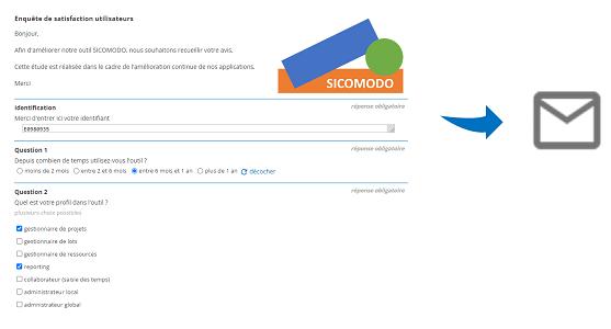 Soyez notifié par email à chaque nouvelle réponse de votre questionnaire